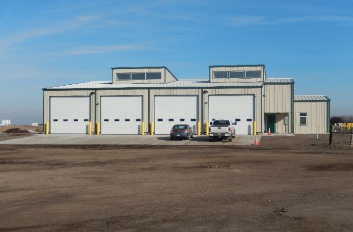 South Dakota Department of Transportation New Highmore Office & Maintenance Shop Building