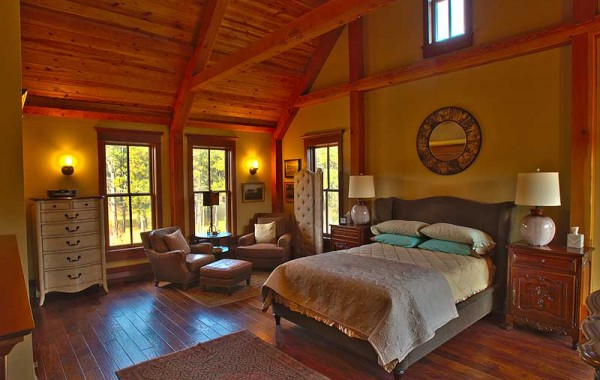 Timber Home In Custer, Bedroom Suites